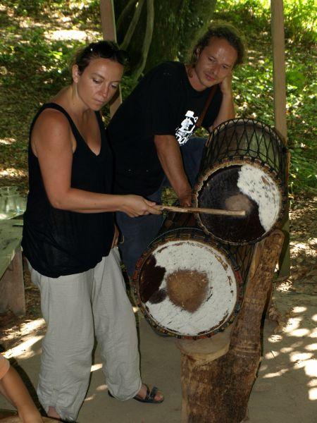 petites percussions africaines